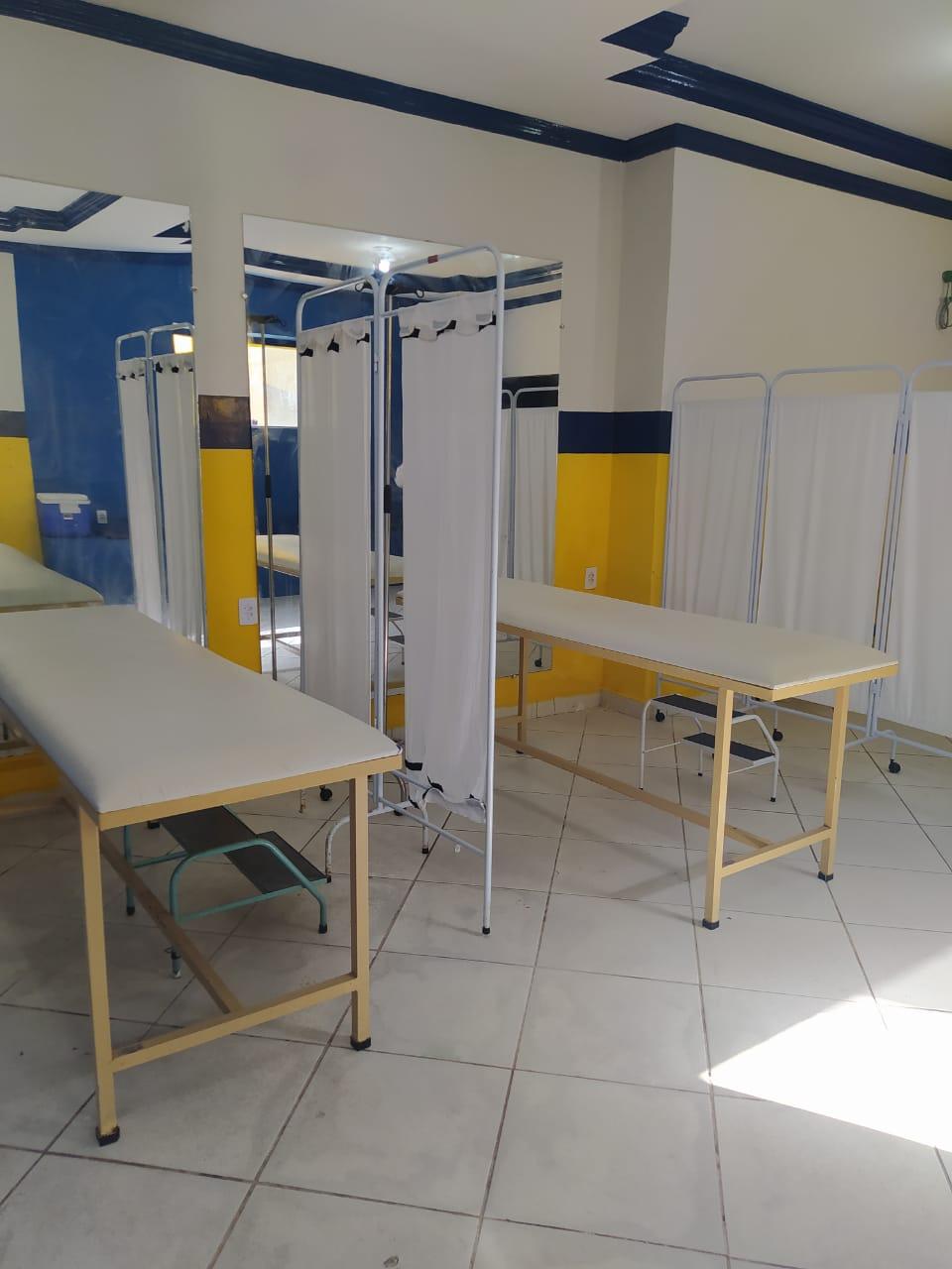 Prefeitura de Duas Estradas amplia instalações físicas do Centro de Atendimento ao Covid-19