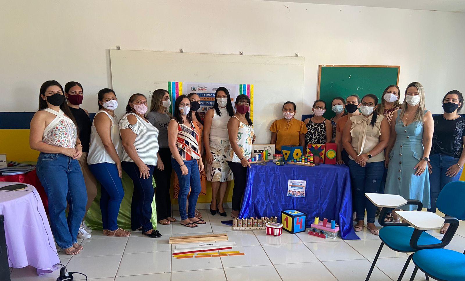 Prefeitura de Duas Estradas realizou formação de professores e coordenadores escolares