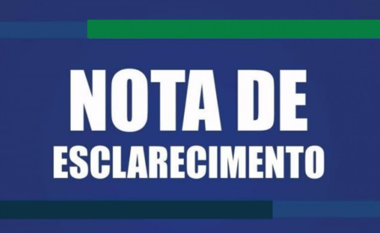 NOTA DE ESCLARECIMENTO – REPASSE FUNDEF