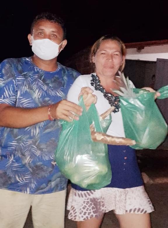 Prefeitura de Duas Estradas realizou nova entrega de alimentos do PAA, nesta terça (26)